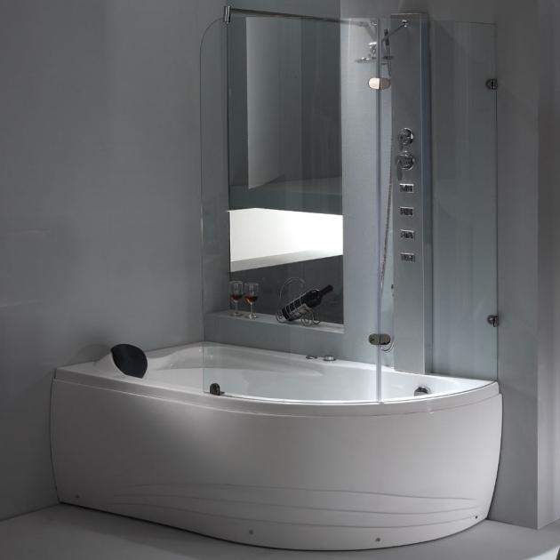 Alluring Whirlpool Tub With Shower Eago Usa Am211 Whirlpool Tub Shop The Modern Bath Tub