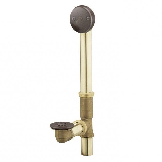 Amazing Bathtub Drain Assembly Moen Brass Trip Lever Tub Drain Assembly In Oil Rubbed Bronze