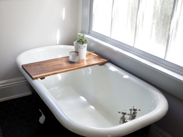 Amazing Clawfoot Tub Caddy Clawfoot Tub Caddy Ideas Cfields Interior