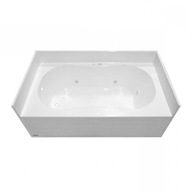 Beautiful Aquaglass Whirlpool Tub Shop Aqua Glass White Gelcoat Skirted Jetted Whirlpool Tub At