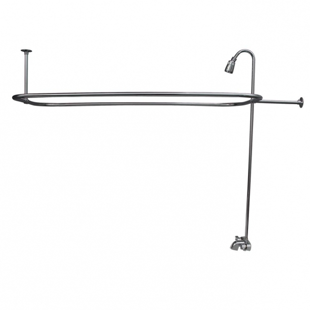 Beautiful Clawfoot Tub Fixtures Claw Foot Tub Faucets Bathtub Faucets The Home Depot