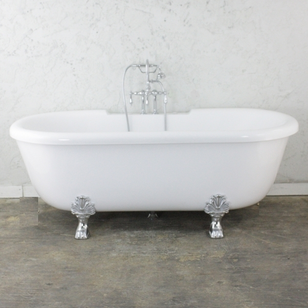Fantastic Clawfoot Tub With Jets 75 Heated Air Jetted Double Ended Clawfoot Tub