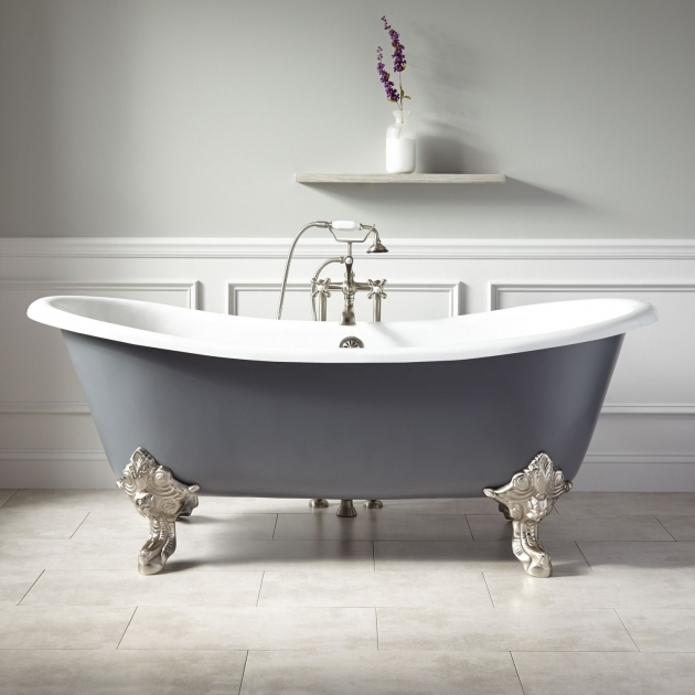 Fantastic New Clawfoot Tub Clawfoot Tubs Cast Iron Acrylic Copper Signature Hardware