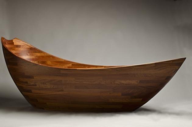 Fantastic Wooden Soaking Tub Salish Sea Bathtub Elegant Solid Wood Tub Seth Rolland