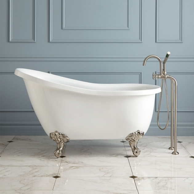 Fascinating Clawfoot Tub Lowes Bathroom Create A Striking Focal Point In Your Bathroom With