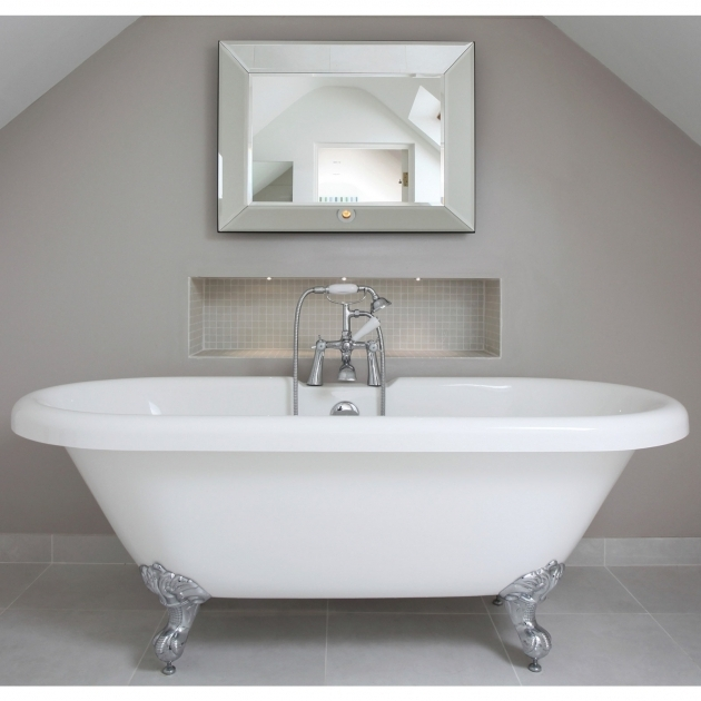 Fascinating New Clawfoot Tub Randolph Morris 60 Inch Acrylic Double Ended Clawfoot Tub Rim