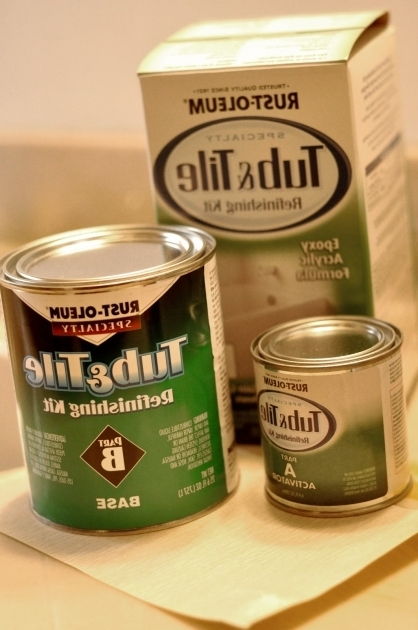 Fascinating Rustoleum Bathtub Refinishing Kit Raising Hope Diy Rust Oleum Tub And Tile Refinishing Kit