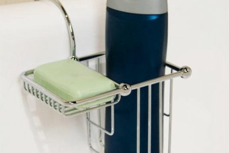 Shower Caddy For Clawfoot Tub