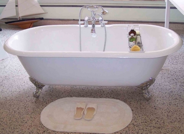 Gorgeous Refinish Clawfoot Tub Cast Iron Clawfoot Tub Restoration Clawfoot Bathtub Refinishing