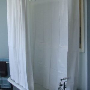 Shower Curtain For Clawfoot Tub