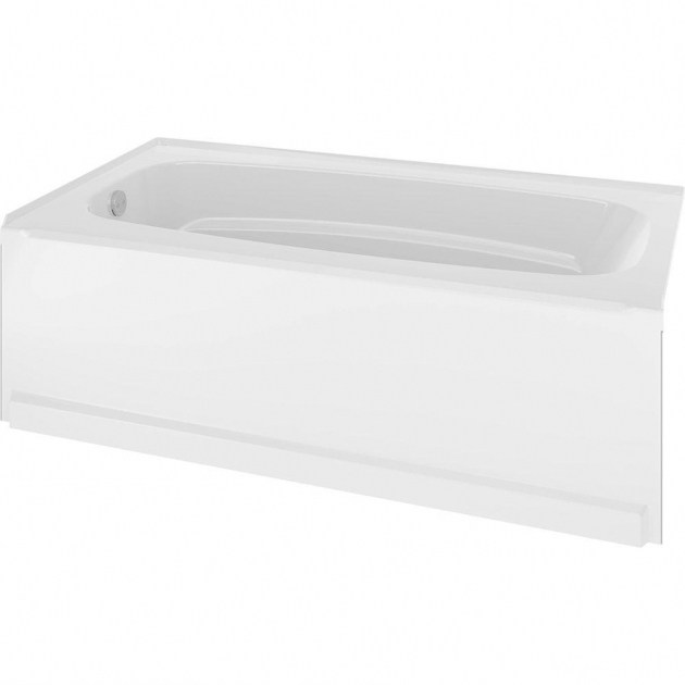 Incredible Delta Bathtubs Delta Classic 400 60 In Right Hand Drain Oval Alcove Non