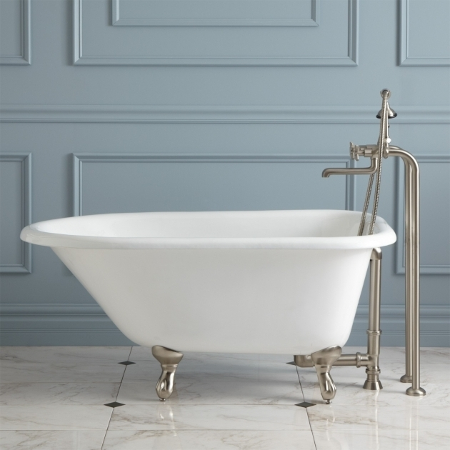 Inspiring 48 Clawfoot Tub 48 Cambria Cast Iron Roll Top Clawfoot Tub Bathroom