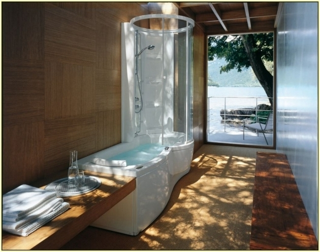 Inspiring Jacuzzi Walk In Whirlpool Tubs Chic Walk In Whirlpool Tub With Shower Bathtub Shower Combo Design