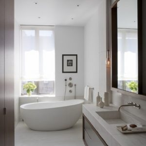 Narrow Bathtub