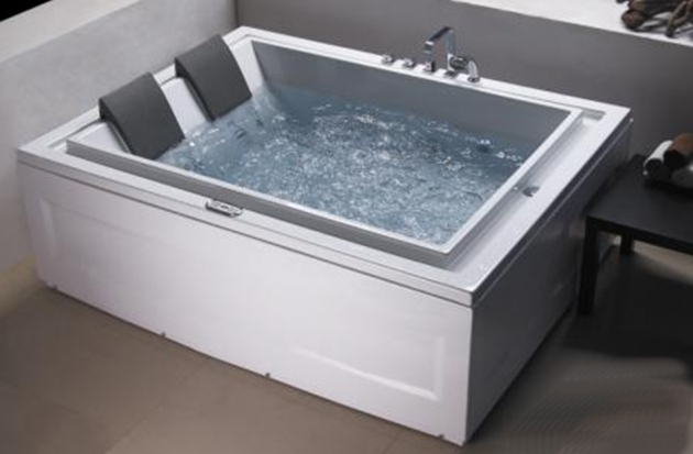Marvelous Best Whirlpool Tubs Bathroom Best Whirlpool Tubs Reviews With Two Framed Paintings On