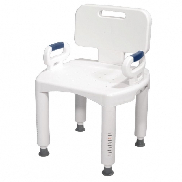 Picture of Bathtub Chairs Drive Bath Bench With Back And Arms Rtl12505 The Home Depot