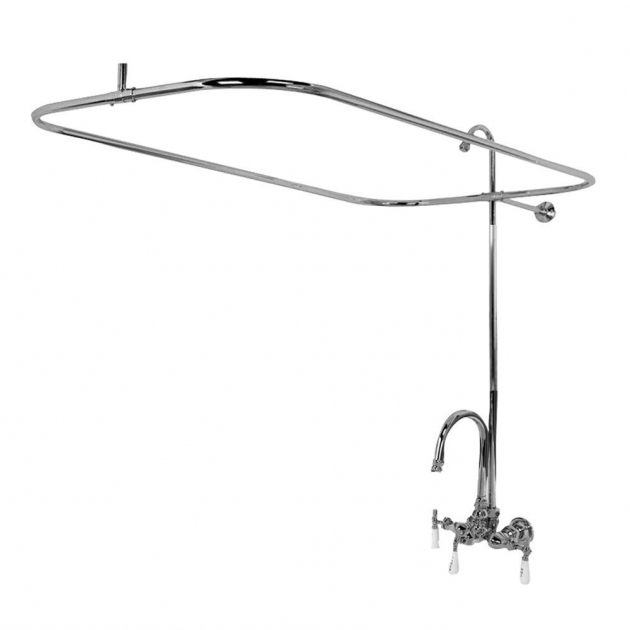 Picture of Clawfoot Tub Shower Attachment Claw Foot Tub Faucets Bathtub Faucets The Home Depot