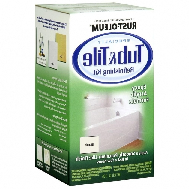 Picture of Rustoleum Bathtub Refinishing Kit Rust Oleum Specialty 1 Qt Biscuit Tub And Tile Refinishing Kit