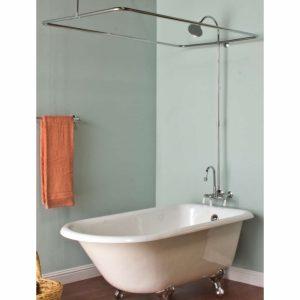 Used Clawfoot Tub Shower Kit