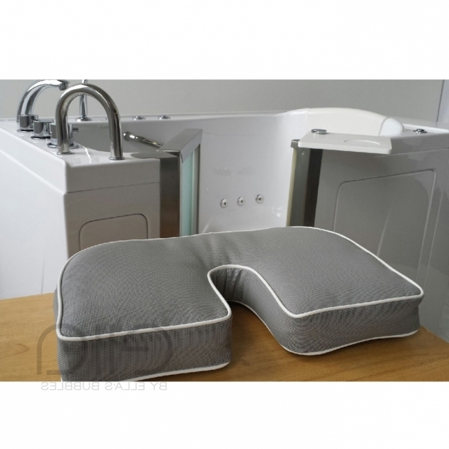 Remarkable Bathtub Seat Cushion Bathtub Seat Pillow And Riserwith Bidet Cutout Ellas Bubbles