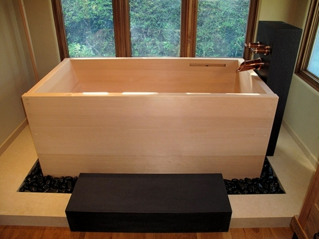 Remarkable Wooden Soaking Tub Japanese Soaking Tubs Ofuro