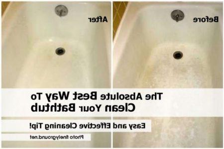 Best Way To Clean Bathtub