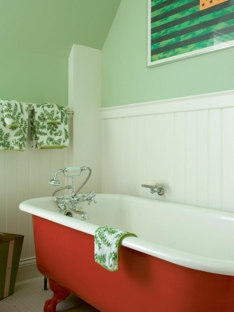 Stunning Colored Clawfoot Tub Copper Bathtub Design Ideas Pictures Tips From Hgtv Hgtv