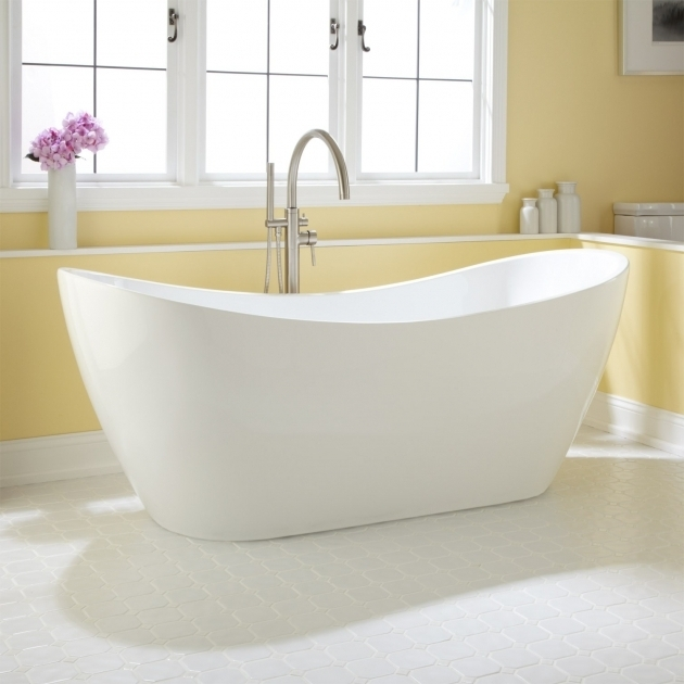Stunning Freestanding Soaking Tub For Two 72 Sheba Acrylic Double Slipper Tub Bathroom