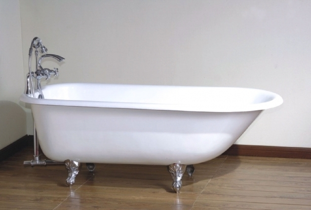 Stunning Used Clawfoot Tub Shower Kit Bathroom Gorgeous Clawfoot Bathtub For Luxury Bathroom Idea
