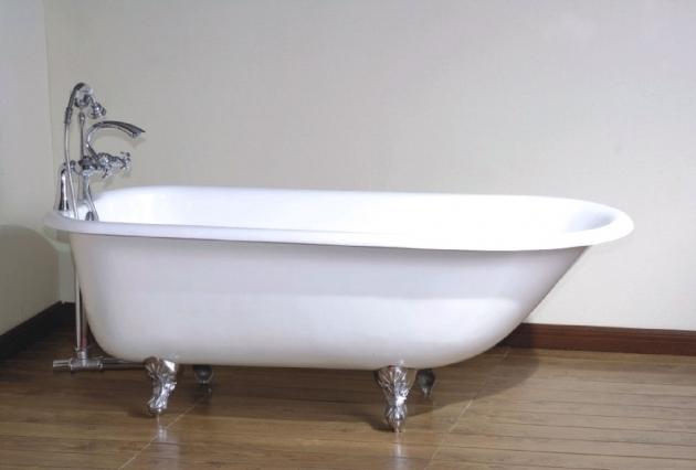 Stunning Used Clawfoot Tub Shower Kit Bathroom Gorgeous Clawfoot Bathtub For Luxury Bathroom Idea