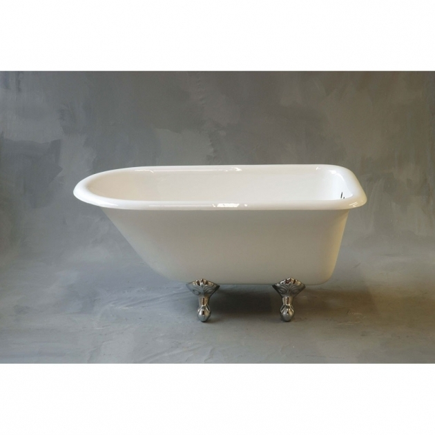Stylish 48 Clawfoot Tub Strom Plumbing Harmony 48 Inch Rolltop Clawfoot Tub Wall Faucet