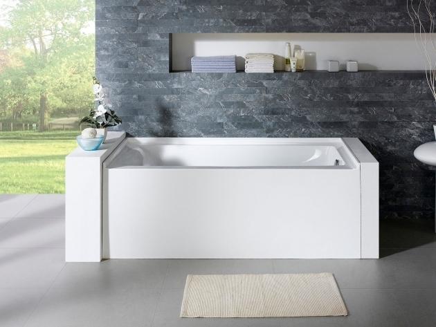 Stylish Alcove Soaking Tub Delano 59 X 32 White Rectangle Alcove Soaking Bathtub Pacific