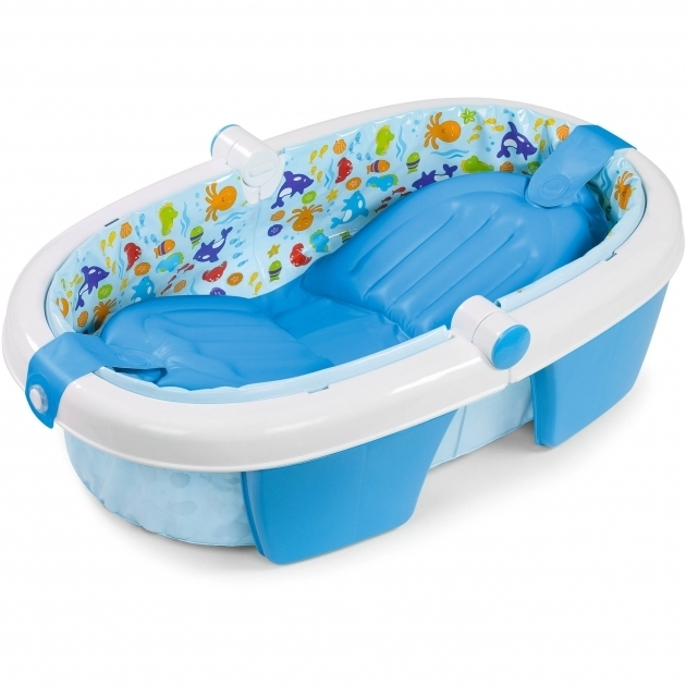 Stylish Baby Boy Bathtub The First Years Sure Comfort Deluxe Newborn To Toddler Tub With