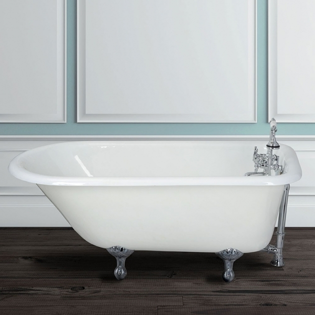 Stylish Classic Clawfoot Tubs Randolph Morris 60 Inch Cast Iron Classic Clawfoot Tub Wall Drillings
