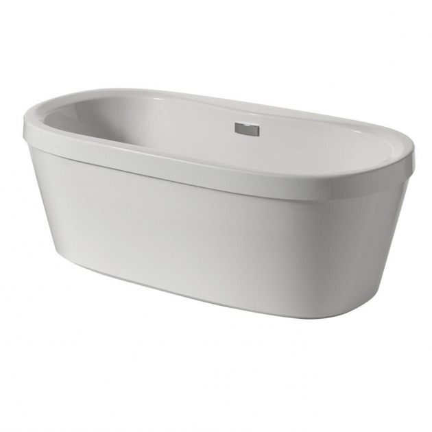 Wonderful Delta Bathtubs Delta Synergy 5 Ft Acrylic Freestanding Bathtub With Integrated