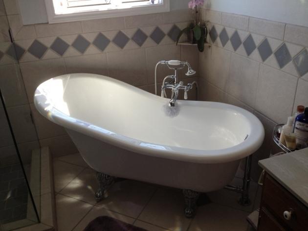 Wonderful Refurbished Clawfoot Tub Bathroom Lovable Clawfoot Tubs For Awesome Bathrom Idea
