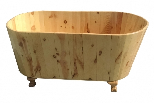Wonderful Wooden Soaking Tub Wooden Bathtubs Nifty Homestead