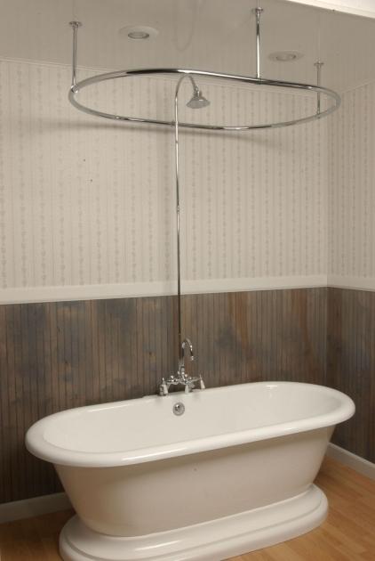 Amazing Clawfoot Tub Shower Curtain Ideas Clawfoot Tub Shower Curtain Home Decor Insights