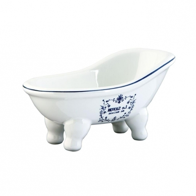Amazing Clawfoot Tub Soap Dish Le Savon Slipper Claw Foot Tub Soap Dish In White Hbatubssw The