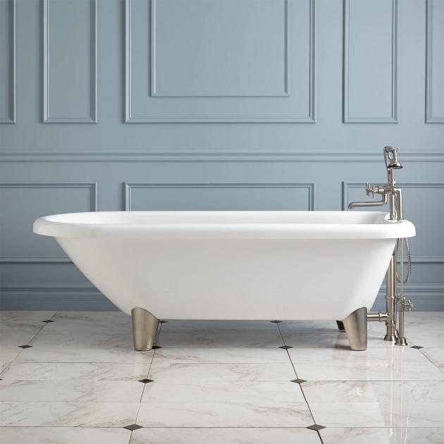 Amazing Modern Clawfoot Tub 70 Hoyt Acrylic Clawfoot Tub Modern Feet Bathroom