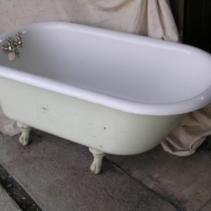 Refinished Clawfoot Tub For Sale