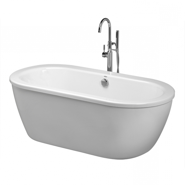 Incredible Lowes Soaking Tub Shop American Standard Cadet 66 In White Acrylic Freestanding