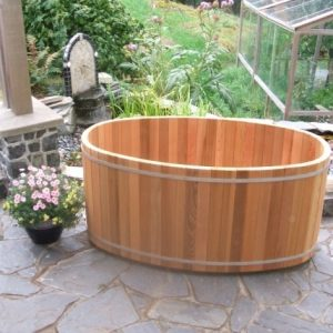 Outdoor Soaking Tub
