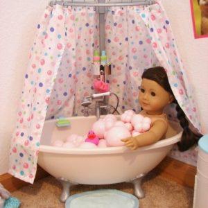 American Girl Doll Bathtub
