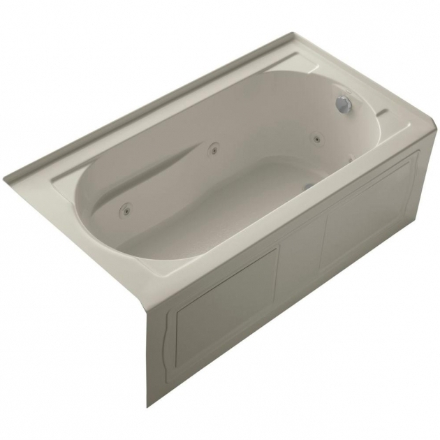 Wonderful Kohler Devonshire Whirlpool Tub Kohler Devonshire 5 Ft Right Hand Drain Farmhouse Rectangular