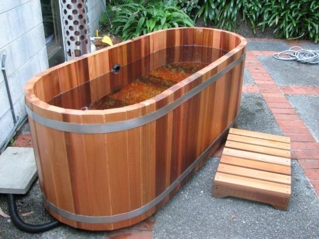 Alluring Cedar Soaking Tub Fire Hot Tubs Nz Ltd Gas Or Wood Fired Cedar Hot Tubs Its