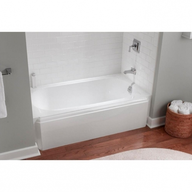 Amazing Cast Iron Soaking Tub Kohler Memoirs 5 Ft Left Drain Alcove Cast Iron Soaking Tub In