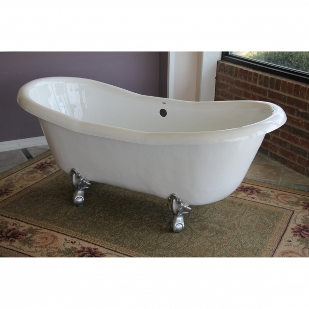 awesome 4 foot clawfoot tub clawfoot tubs youll love wayfair 89109