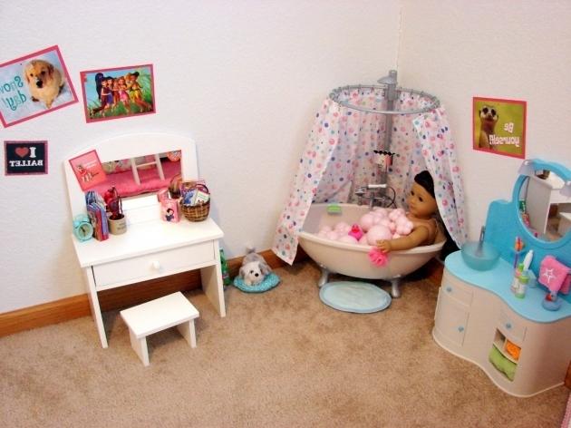 Awesome American Girl Bathtub American Girl Doll Play Our Doll Play Area The Bathroom