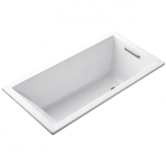 Kohler deep soaking tub bathtub designs for Deep built in bathtubs